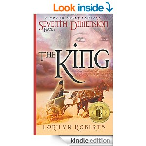 Featured Bargain Book: Seventh Dimension – The King, A Young Adult Fantasy by Lorilyn Roberts