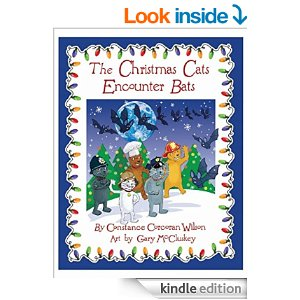 Featured Bargain Children's Book: The Christmas Cats Encounter Bats by Constance Wilson