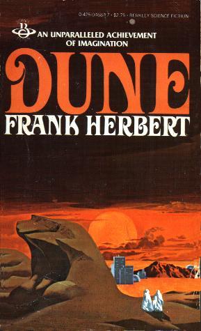 Science Fiction Books - Dune by Frank Herbert
