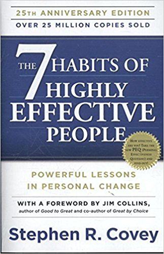 Business Books and Finance Books - The 7 Habits of Highly Effective People by Stephen R Covey