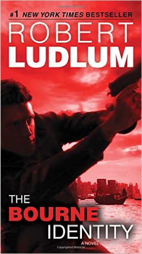 Action and Adventure books classic - The Bourne Identity by Robert Ludlum