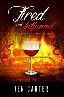 Fired and Inflamed (The Otto Viti Mysteries, Book 2)