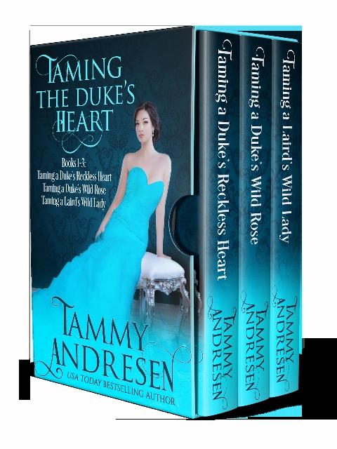 Taming the Duke's Heart (Books 1 – 3)
