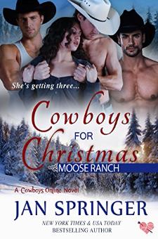 Cowboys for Christmas – Moose Ranch (Book 1)