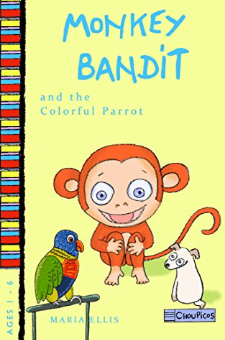 Monkey Bandit and the Colorful Parrot