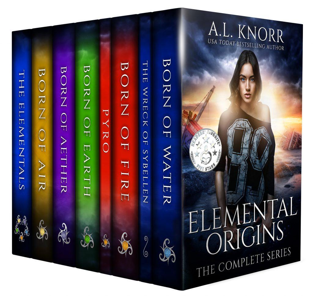 Elemental Origins (Complete Series)
