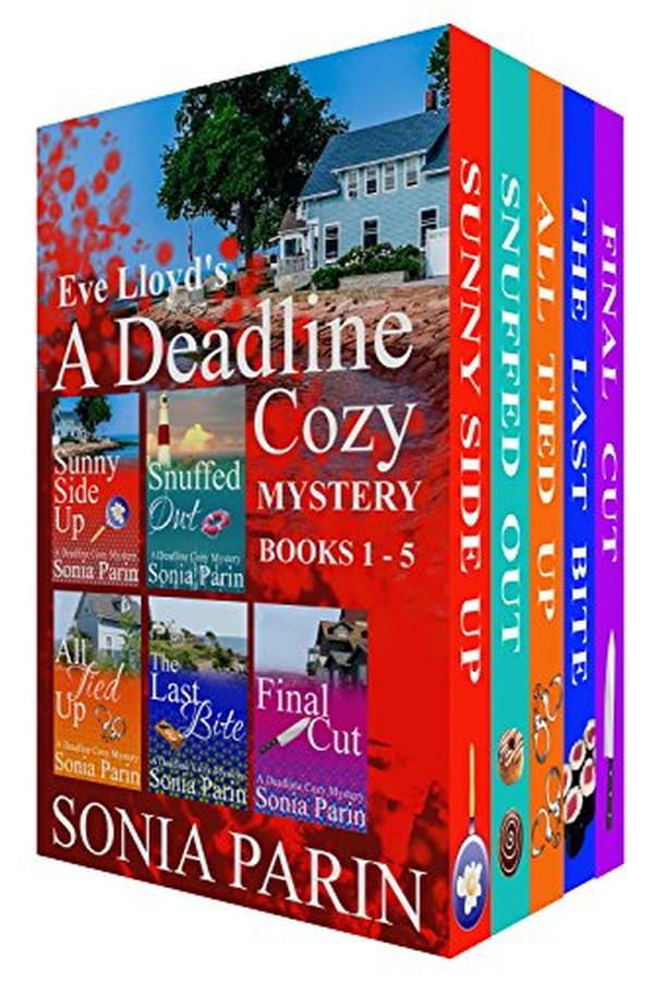 Eve Lloyd's A Deadline Cozy Mystery (Books 1- 5)