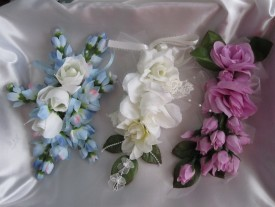 3 Flower Corsages