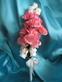 Wedding Brides Stick Bouquet/Elongated Bouquet
