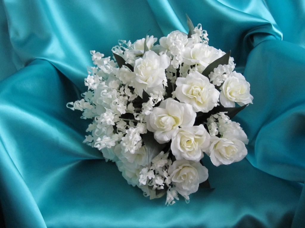Wedding Large Round Brides Bouquet