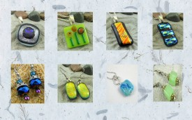 Artfire - Fused glass Jewelry