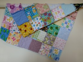 Everything Baby Rag Quilt