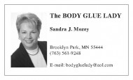 Body Glue Lady
