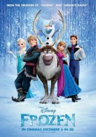 FROZEN - Full Size Original Double Sided Movie Poster - 27x40