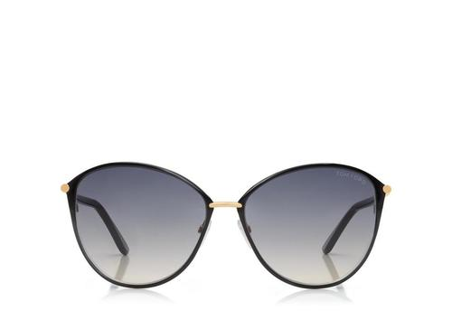 dfc4c29b340 Penelope Vintage Round Sunglasses By Tom Ford