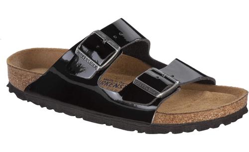 82b74686f02f Birkenstock Arizona Soft Footbed Black Patent Leather By Birkenstock ...
