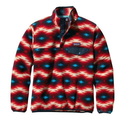 Patagonia w lightweight synchilla snap t pullover wild desert classic