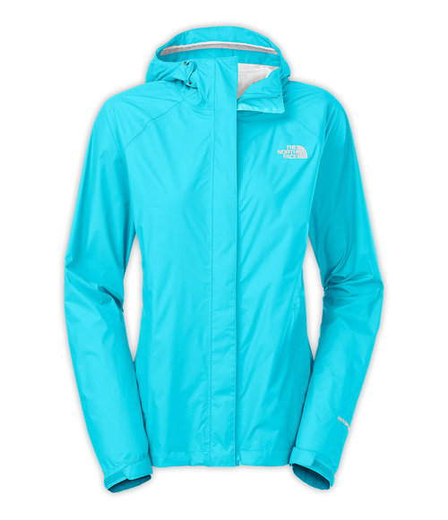 The North Face W Venture Jacket Turquoise Blue By The