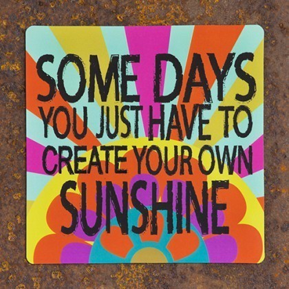 create your own sunshine square magnet by natural life grassroots