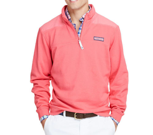 Vineyard Vines Garment Dyed Shep Shirt Jetty Red By