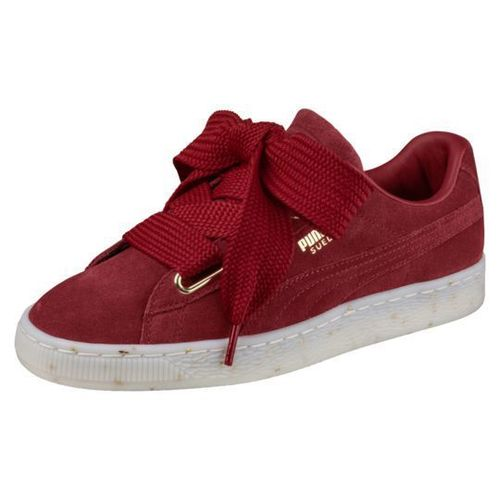 Puma Suede Heart Red