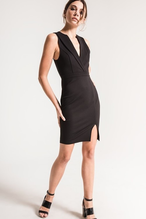 Alicia Ponte Knit Dress By Black Swan Mapel Boutique Portland