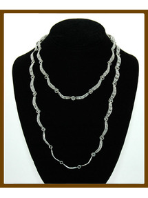 Kota filigree sterling silver necklace
