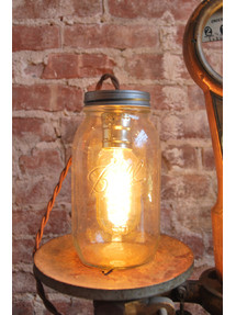 Large Mason Jar Light