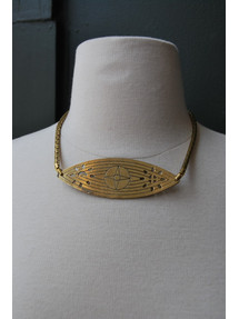 Evil Eye Collar Necklace