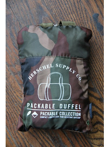 Camo Packable Duffle Bag