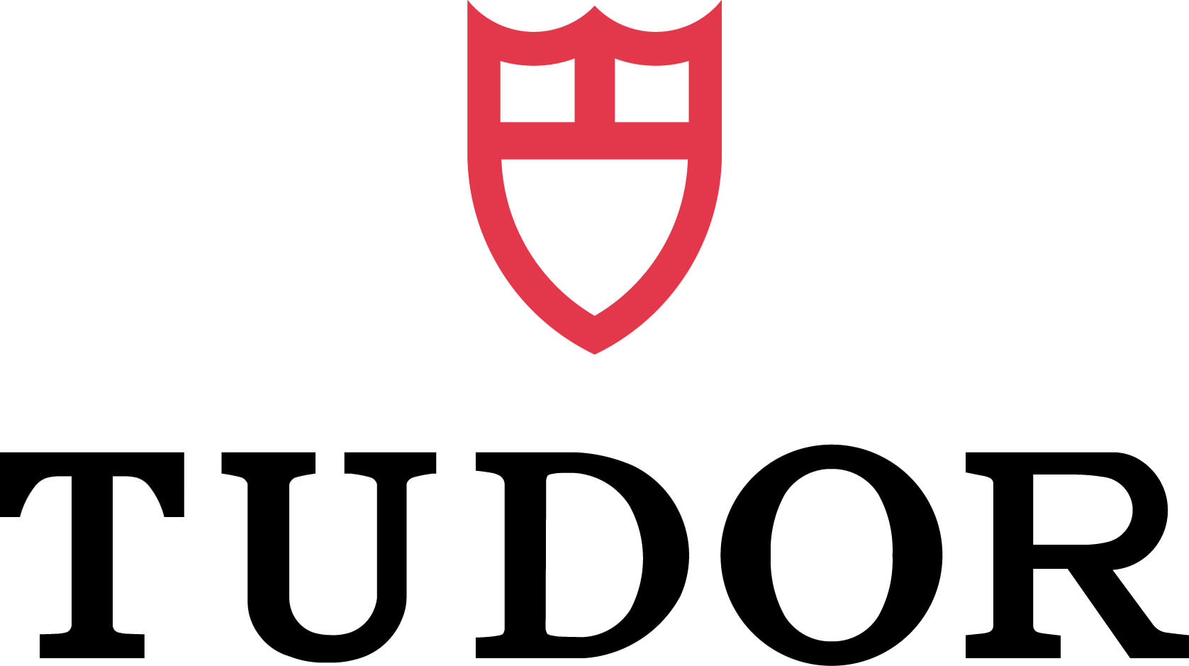 Tudor logo blk red