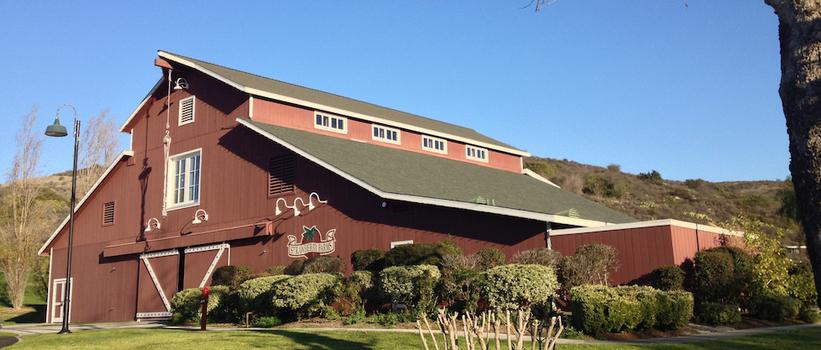 Strawberry Farms Golf Course Barn