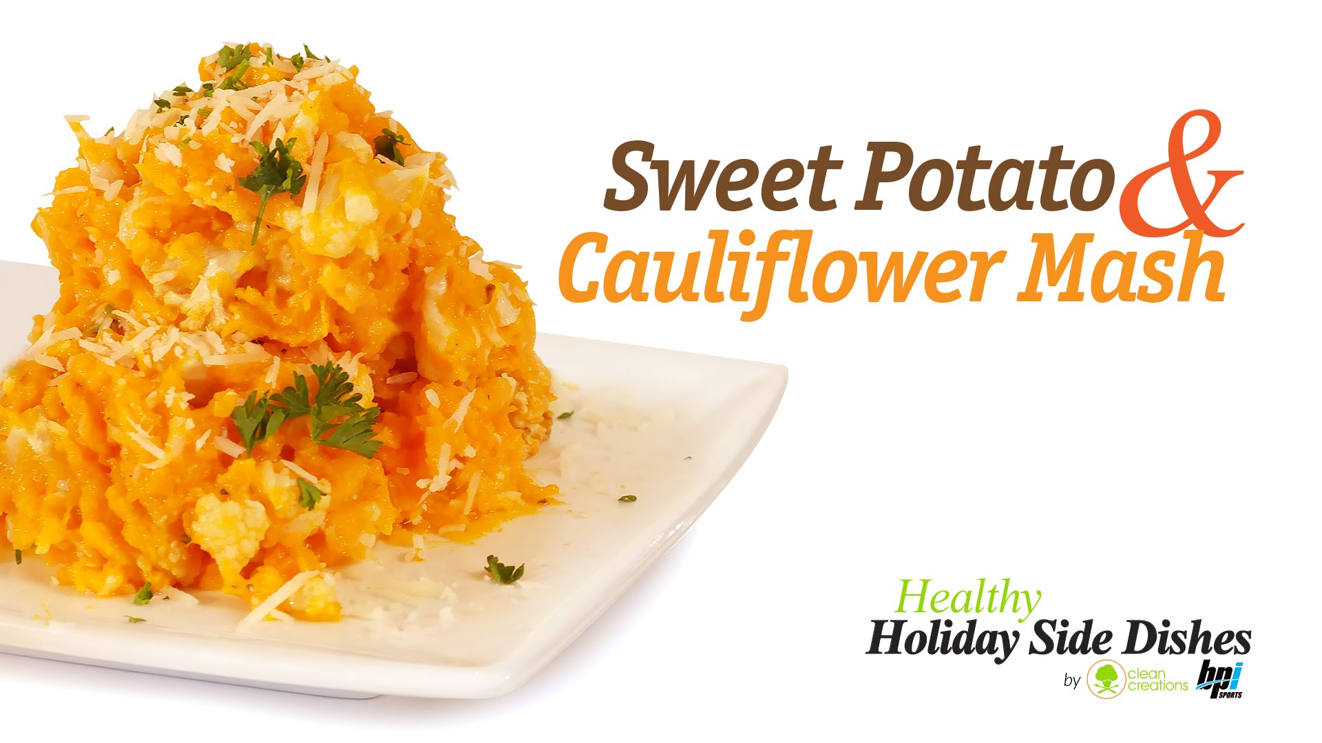 Recipe: Sweet Potato & Cauliflower Mash