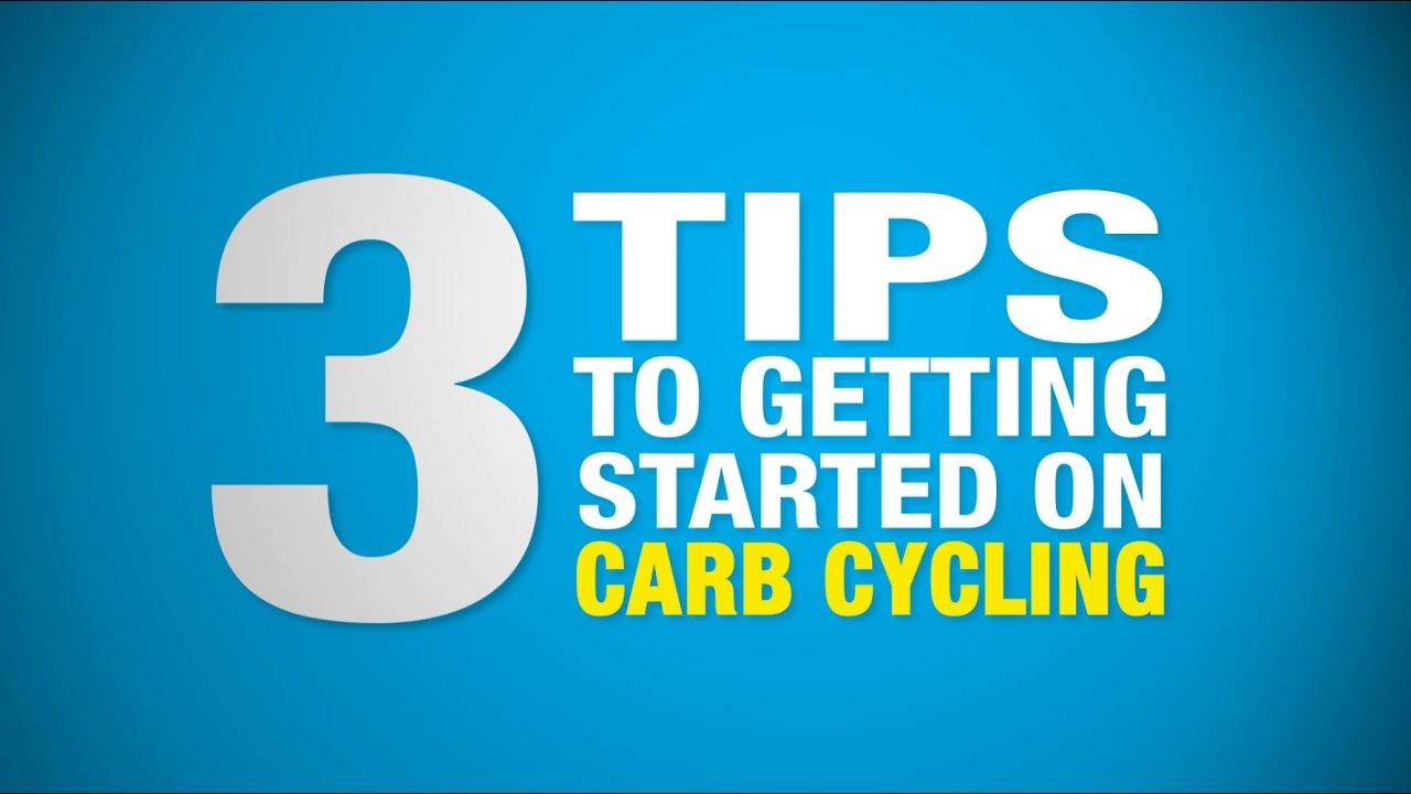 Three Tips to Getting Started on Carb Cycling