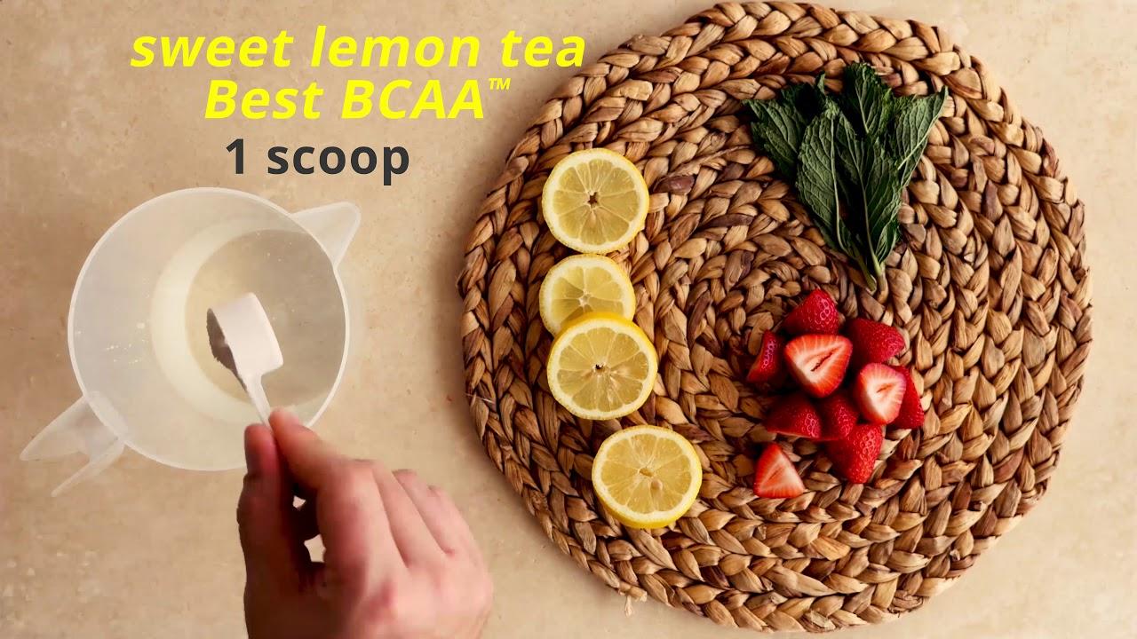 Best BCAA™ Recipe: Old Fashioned Sweet Lemon Tea