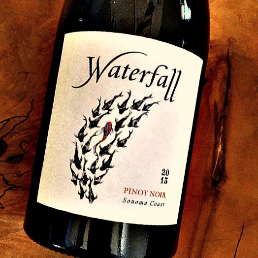Waterfall Pinot Noir Sonoma Coast 2013,  () from The BPW - Merchants of rare and fine wines.