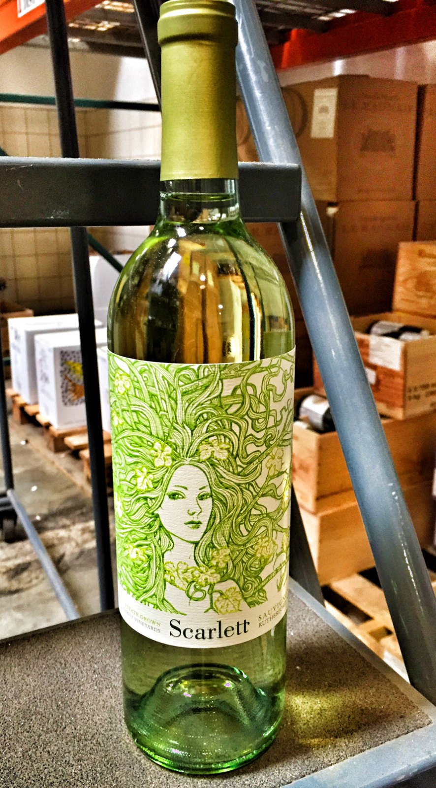 McGah Family Scarlett Sauvignon Blanc Rutherford 2014,  () from The BPW - Merchants of rare and fine wines.