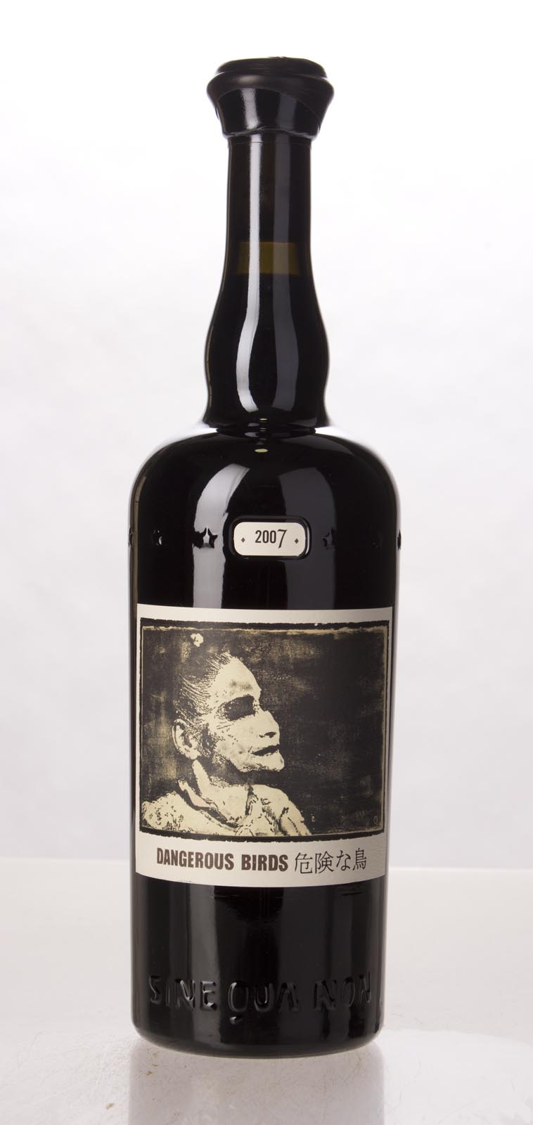 Sine Qua Non Syrah Dangerous Birds Eleven Confessions Vineyard 2007, 750mL (JS100, WA98) from The BPW - Merchants of rare and fine wines.