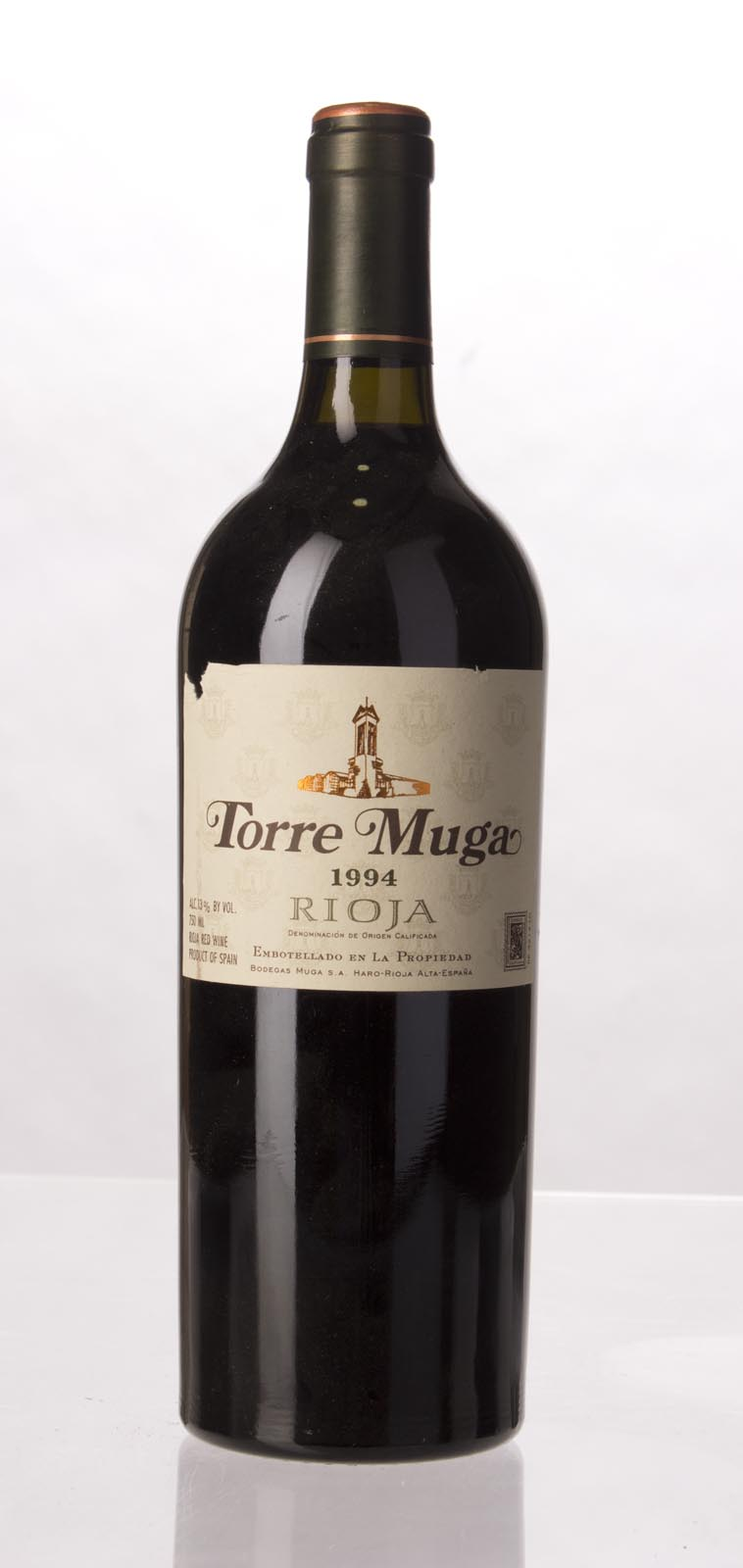 Muga Torre Muga 1994, 750mL (ST94) from The BPW - Merchants of rare and fine wines.