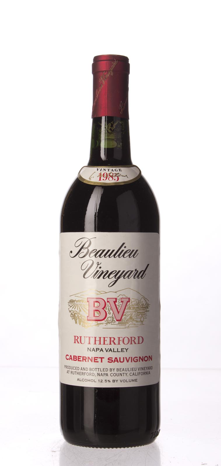 Beaulieu Vineyard Cabernet Sauvignon Rutherford 1985,  () from The BPW - Merchants of rare and fine wines.
