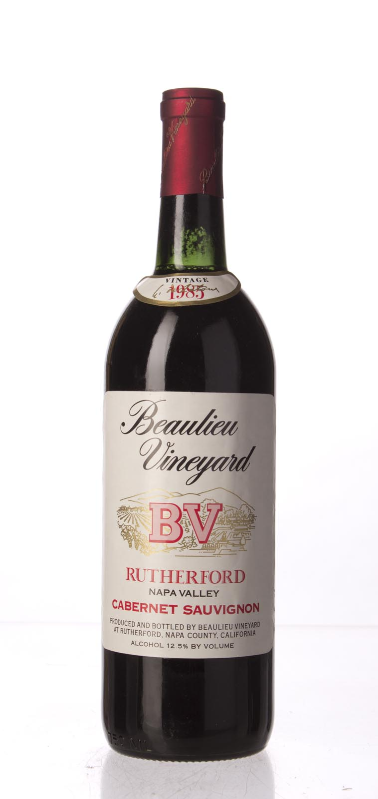 Beaulieu Vineyard Cabernet Sauvignon Rutherford 1985, 750mL () from The BPW - Merchants of rare and fine wines.