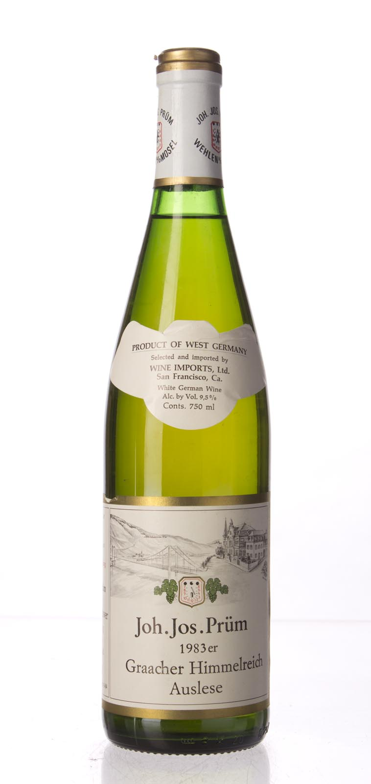 JJ Prum Graacher Himmelreich Riesling Auslese 1983, 750mL () from The BPW - Merchants of rare and fine wines.