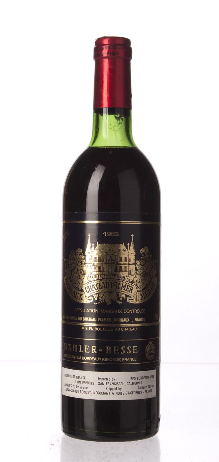 Palmer 1983, 750mL (WA97) from The BPW - Merchants of rare and fine wines.