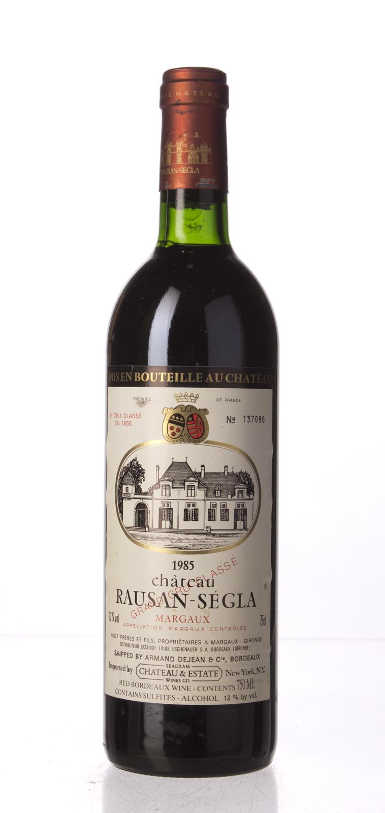 Rausan Segla 1985, 750mL (WS92) from The BPW - Merchants of rare and fine wines.