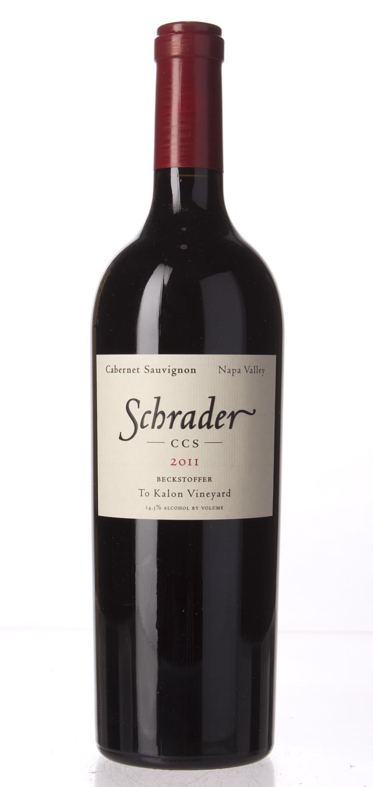 Schrader Cellars Cabernet Sauvignon Beckstoffer To Kalon Vineyard CCS 2011, 750mL (AG95, WA95) from The BPW - Merchants of rare and fine wines.