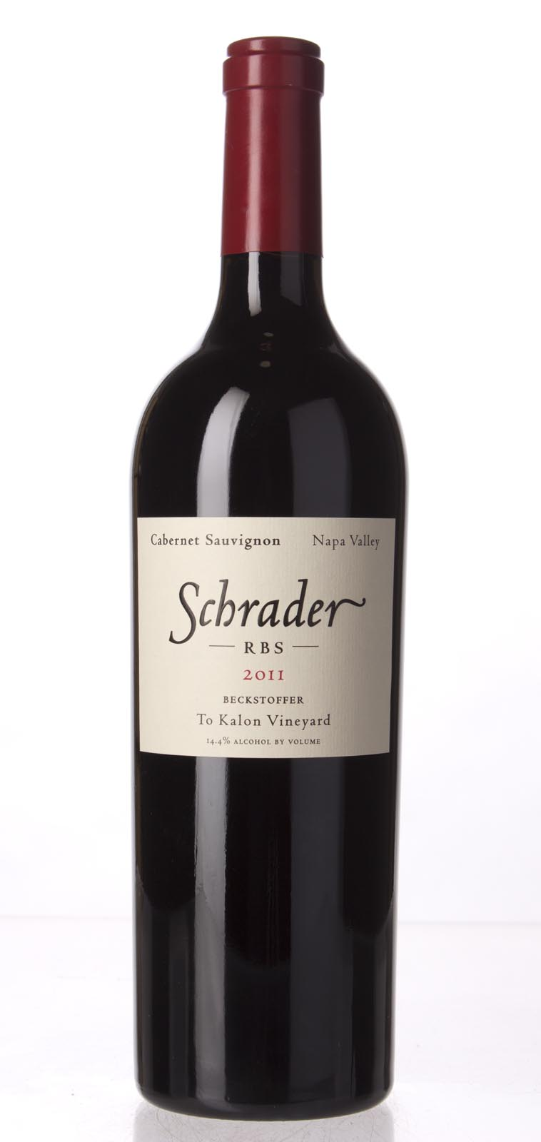 Schrader Cellars Cabernet Sauvignon Beckstoffer To Kalon Vineyard RBS 2011, 750mL (AG93, WA91) from The BPW - Merchants of rare and fine wines.
