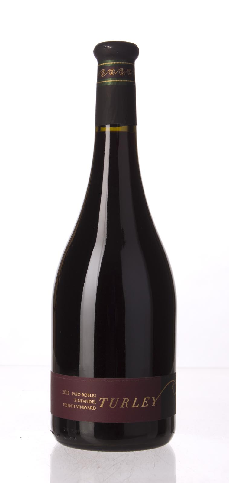 Turley Wine Cellars Zinfandel Pesenti 2011, 750mL (ST94) from The BPW - Merchants of rare and fine wines.