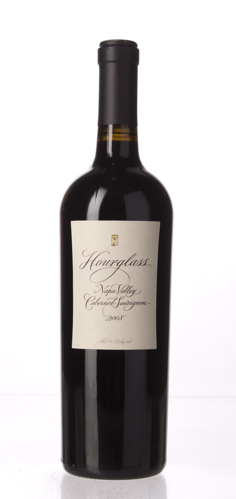 Hourglass Cabernet Sauvignon Napa Valley 2008, 750mL (WA92+, ST92, WS92) from The BPW - Merchants of rare and fine wines.