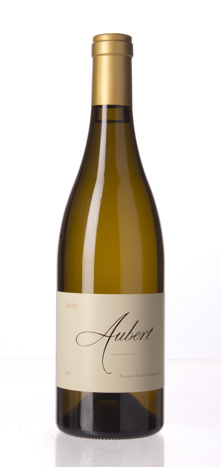 Aubert Chardonnay CIX Estate Vineyard 2012, 750mL (WA98-100) from The BPW - Merchants of rare and fine wines.