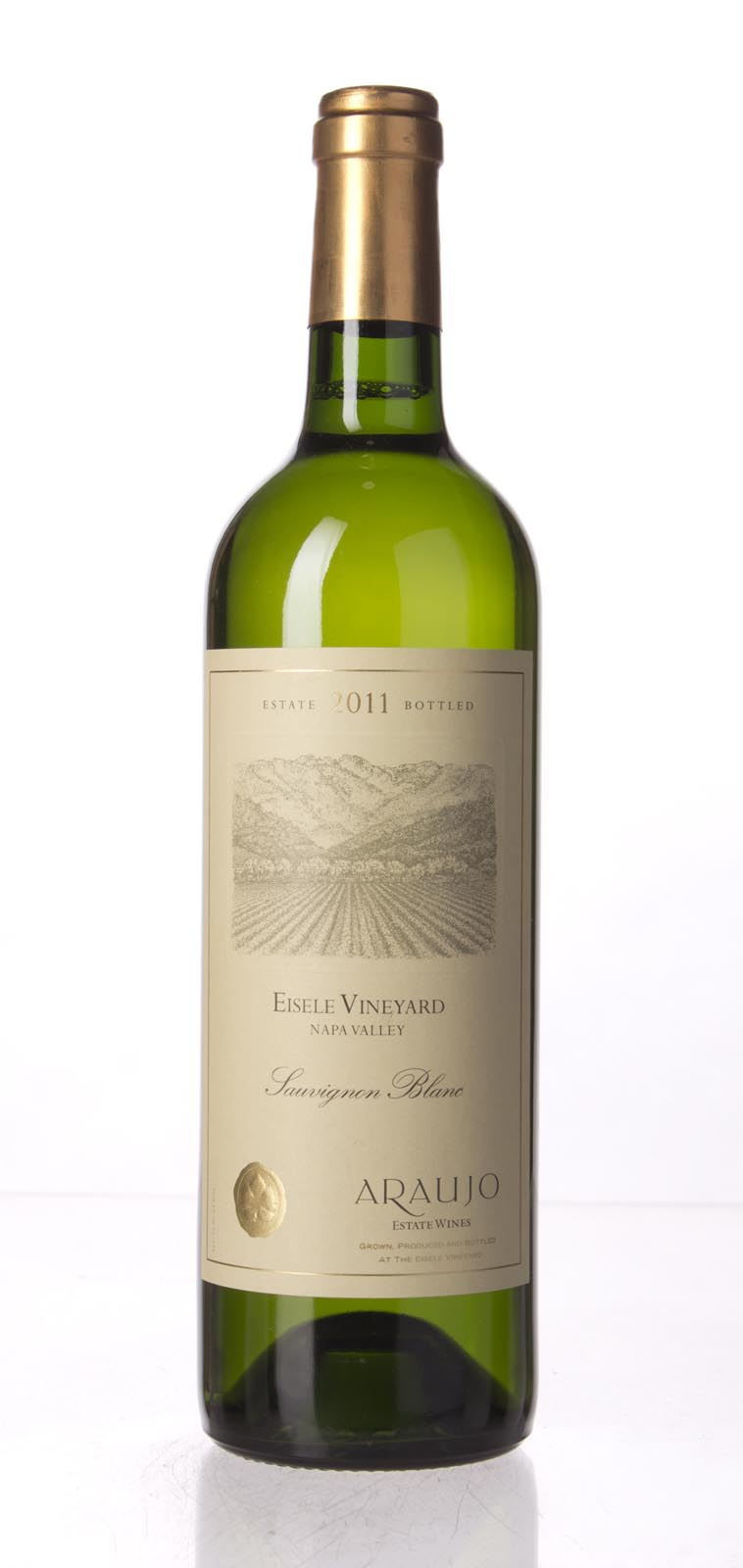 Araujo Estate Sauvignon Blanc Eisele Vineyard 2011, 750mL (WA91, ST91) from The BPW - Merchants of rare and fine wines.